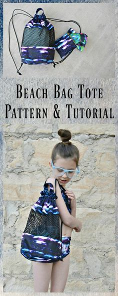 Beach Tote Bag Tutorial