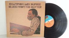 CHAMPION JACK DUPREE blues from the gutter. WEA 40526 - JAZZ, BLUES, Jazz-rock-prog, nearly jazz and nearly blues!