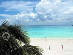 Oasis12 neighborhood beach. The lighthouse beach. Playa del Carmen real estate