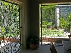 Decorative Steel Closures Gates, Pedestrian, Patio Ideas, Orlando, Doors, Steel, Beautiful, Classic, Diy