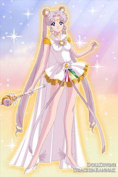 Sailor Cosmos ~ by MajesticXxPurp ~ created using the Sailor Senshi doll maker | DollDivine.com