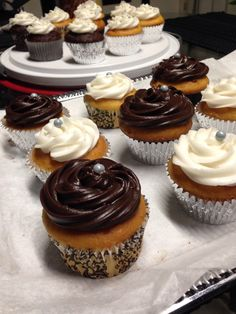 More cup cakes