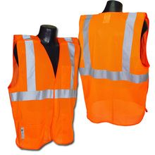 Radians Hi Vis Orange Mesh Vest Class 2 SV4OS