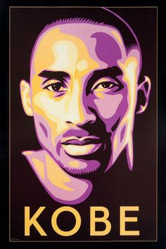 Shepard Fairey 'KOBE' Iconic Litho Art - Hooped Up