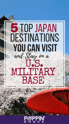 Thinking of taking a trip to Japan without breaking the bank? Here are 5 Japan destinations that are close enough to stay on a U. Military Love, Military Spouse, Military Families, Japan Travel Tips, Travel Hacks, Travel Ideas, Travel Guide, Okinawa Japan, Japan Trip