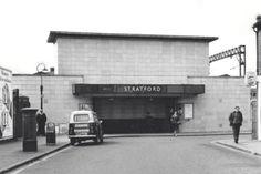 angel lane stratford - Google Search Stratford Station, Stratford London, London Underground Train, London Underground Stations, London History, Local History, Vintage London, Old London, Secret Places In London