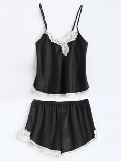 SHARE & Get it FREE | Lace Panel Tank Top and Drawstring ShortsFor Fashion Lovers only:80,000+ Items • New Arrivals Daily Join Zaful: Get YOUR $50 NOW!