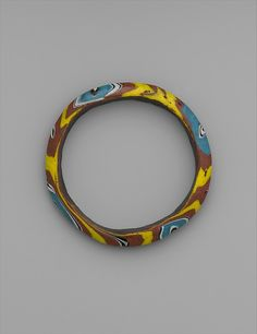 Glass Bracelet  Probably 14th–16th century or later  Egypt or Palestine   Islamic Geography: Egypt or Palestine