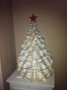 Bookpage christmas tree