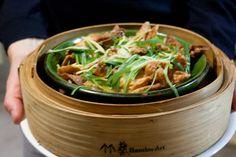 Geong Chung Har Kok 薑蔥蝦角, Fried Ginger, Spring Onion And Prawn Dumplings