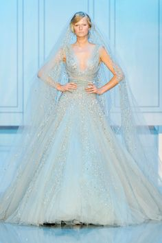 Elie Saab wedding gown from F2011 Couture