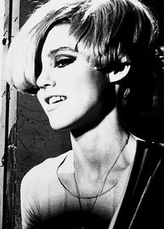 Edie Sedgwick by Billy Name, c. 1965.