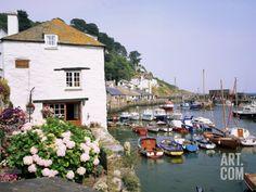Polperro, Cornwall, England, United Kingdom Photographic Print by Roy Rainford at Art.com