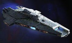 Star Wars Spaceships, Sci Fi Spaceships, Star Wars Planets, Star Wars Ships, Spaceship Art, Spaceship Design, Republic Cruiser, Joker Images, Starship Concept