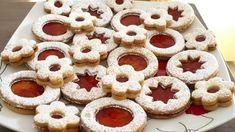 Slovak Recipes, Czech Recipes, Russian Recipes, Xmas Cookies, No Bake Cookies, Sugar Cookies, Meringue Cookies, Cookie Icing, Czech Desserts