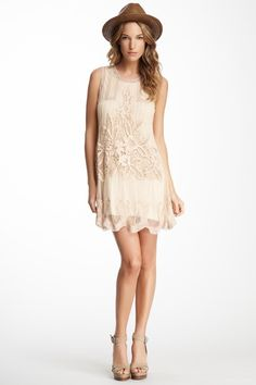 Dixie Floral Embroidery Dress on HauteLook