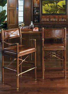 Borneo Campaign Bar Stool