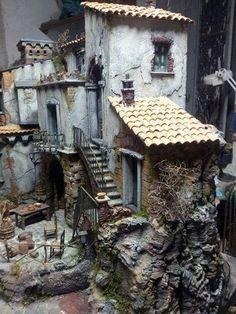 Resultado de imagen de presepi Fairytale House, Fairytale Art, Model Village, Fantasy Model, Lego Room, Christmas Villages, Miniature Houses, Summer Pictures, Fairy Houses