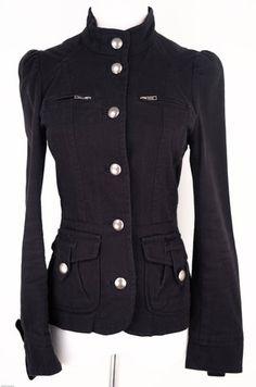 H Black Jacket Size 4 by H | ClosetDash