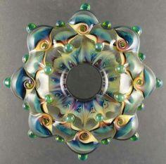 Leah M Nietz - Aqua Violet Supernova