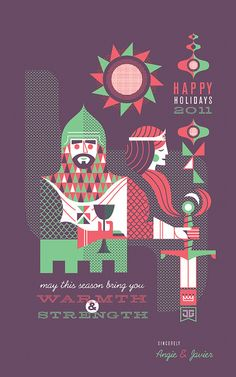 2011 Holiday Card by Javier Garcia by Javier Garcia Design, via Flickr