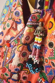 Boho bag, this fabric is fabulous!