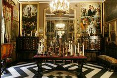 Museo Cerralbo. Sala de las columnitas. Uno de los museos más sorprendentes de Madrid :-)