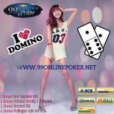 Agen Domino Online :99Onlinepoker Adalah Salah Satu Agen Domino Online Indonesia Yang Terpercaya,Mampu Memberikan Kemenangan & Keberuntungan Permainan Yang Baik