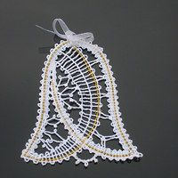 Lacemaking, Lace Heart, Lace Jewelry, Bobbin Lace, Xmas, Christmas, Lace Detail, Tatting, Butterfly