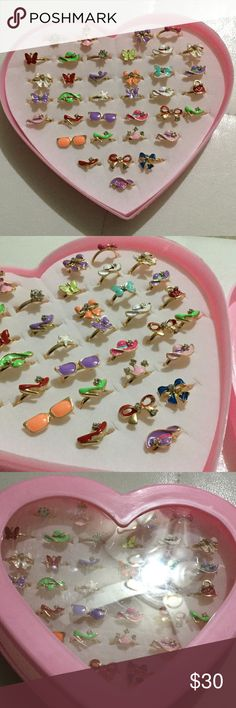 36 Rings, box included. Adjustable. Great gift! Brand New zdazzled Accessories Jewelry