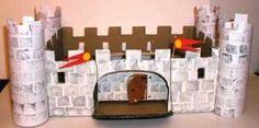 su Castello Di Cartone su Pinterest  Castello Di Cartone, Scatole Di ...