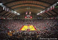 Cole Field House, University of Maryland, College Park Maryland