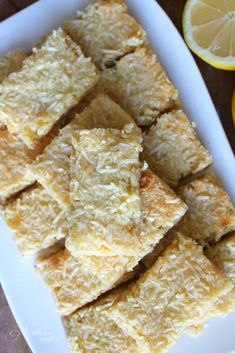 Lemon Coconut Bars | THM: S - Northern Nester