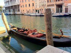 Venice, Italy.  Gondola Ride.
