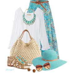 BOHO Babe #2 by sherryvl on Polyvore featuring мода, Michael Kors, Lauren Ralph Lauren, House of Harlow 1960, Ermanno Scervino, Kate Spade, Bling Jewelry, Betmar, River Island and ASOS