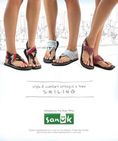 Sanuk Yoga Slingback. Just purchased these in black. They're made from yoga mat material. So excited.