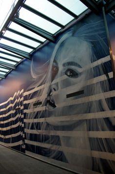 Rone's illuminating portraits capture the enduring spirit of disaster-hit cities St Kilda, Melbourne, Sidewalk, Fair Grounds, Spirit, Victoria, Culture, Art Prints, Exhibitions