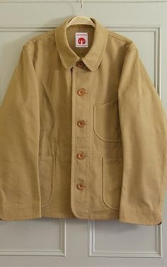 This unlined jacket from Old-Town boutique in Norfolk's Holt is light enough to be layered under a coat in winter; or worn on it's own come summer. Medway khaki canvas jacket, £190, Old Town
