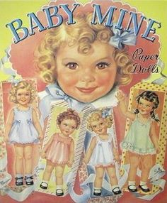 """BABY MINE """"Babs"""" by Merrill #4860 Circa 1944 - This Cover found on another site. No information if Original or Reproduction"""