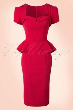 Stop Staring Auryd Red Dress 17080 20150710 0002W
