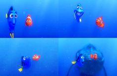 """I speak whale"" - Dory Funny Movies For Kids, Disney Pixar, Walt Disney, Disney Presents, Finding Nemo, Dory, The Fool, Whale, Entertaining"