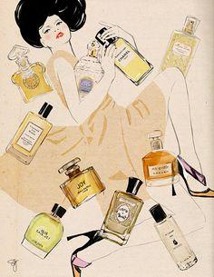 A century of parfum/ BE magazine by Sandra Suy