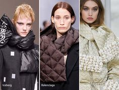 Fall/ Winter 2016-2017 Accessory Trends: Puffer Scarves