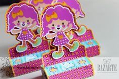Circo meninas personalizados  infantis scrapfesta