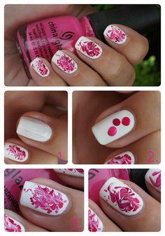 #nail #art #tutorial step by step