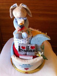 diaper cake torta di pannolini