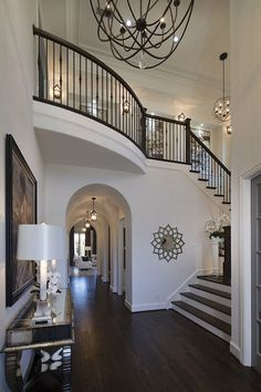 Best Dream House Interior Design to Transfrom Your House - Traumhaus Dream House Interior, Dream Home Design, My Dream Home, Home Interior Design, Beautiful Houses Interior, Interior Architecture, Villa Plan, Foyer Decorating, Decorating Tips