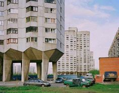 sovietbuildings: Russia, Leningrad, State Housing Complex  Kind of scary!!