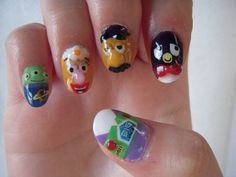 Toy Story Nail Art