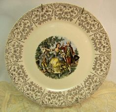 Antique plate I love